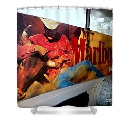 Marlboro Man Shower Curtain