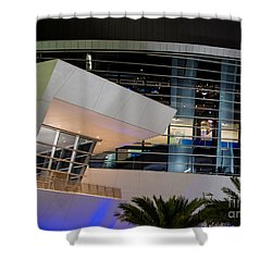 Marlins Park Stadium Miami 6 Shower Curtain by Rene Triay Photography