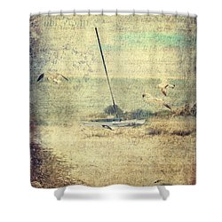 Marooned Shower Curtain