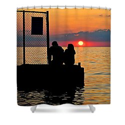 Marry Me Shower Curtain by Frozen in Time Fine Art Photography