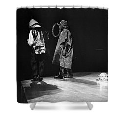 Marshall And Sonny 1968 Shower Curtain by Lee  Santa
