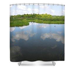 Marshland Shower Curtain
