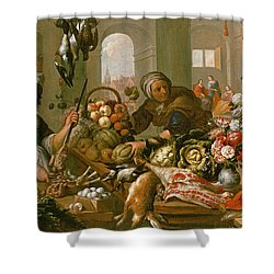 Martha And Mary Shower Curtain