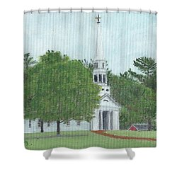 Martha Mary Chapel Shower Curtain