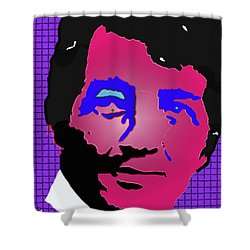Martini Man Shower Curtain