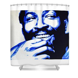 Marvin Gaye Shower Curtain