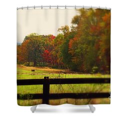 Maryland Countryside Shower Curtain by Patti Whitten
