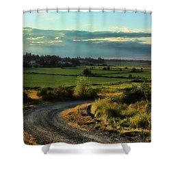 Marysville Valley Shower Curtain