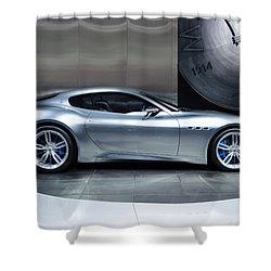 Maserati Alfieri Shower Curtain