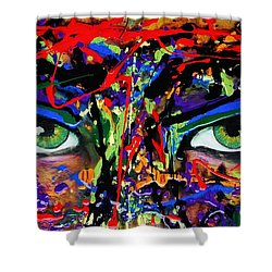 Masque Shower Curtain
