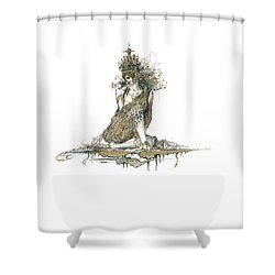 Wanita Shower Curtain