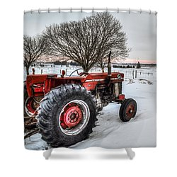 Massey Ferguson 165 Shower Curtain