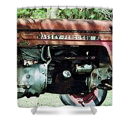Massey-ferguson Shower Curtain