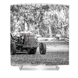 Massey Ferguson Tractor Shower Curtain