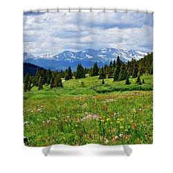 Massive Backdrop Shower Curtain by Jeremy Rhoades