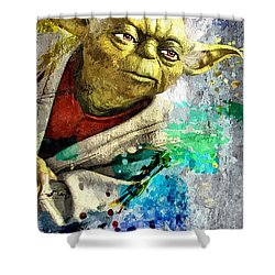 Master Yoda Shower Curtain