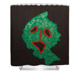 Masuku 2 Shower Curtain by Roberto Prusso