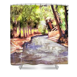 Mataranka Hot Springs Shower Curtain