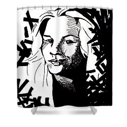 Match My Poem Entry Shower Curtain