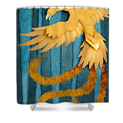 Material Fenix Shower Curtain