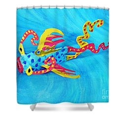 Matisse The Fish Shower Curtain by Sarah Loft