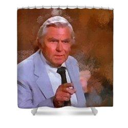 Matlock Shower Curtain by Paulette B Wright