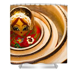 Matryoshka Doll Shower Curtain