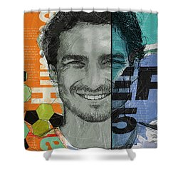 Mats Hummels - B Shower Curtain