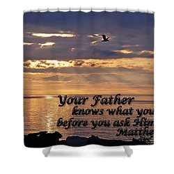 Matthew  Shower Curtain by Aimee L Maher Photography and Art Visit ALMGallerydotcom