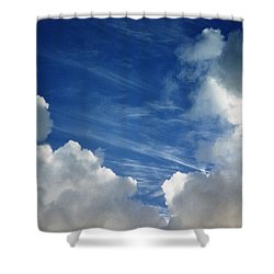 Shower Curtain featuring the photograph Maui Clouds by Evelyn Tambour
