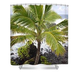 Maui Coast Shower Curtain by Jenna Szerlag