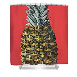Maui Pineapple 2 Shower Curtain by Darice Machel McGuire