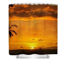 Maui Sunset Dream Shower Curtain
