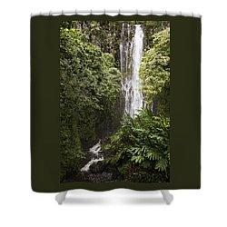 Maui Waterfall Shower Curtain