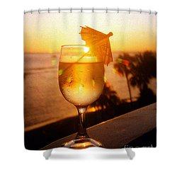 Maui Wine Hawaii Shower Curtain by Jerome Stumphauzer