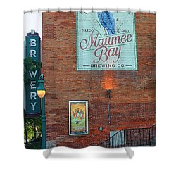Maumee Bay Brewing Company 2135 Shower Curtain