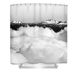 Mauna Kea Shower Curtain by Denise Bird