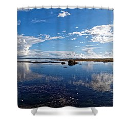 Mavericks Beach Shower Curtain