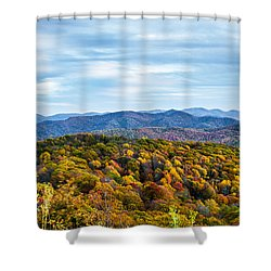 Max Patch Bald Shower Curtain