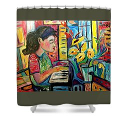 May Dreams Shower Curtain