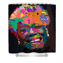 Maya Angelou - Abstract Shower Curtain