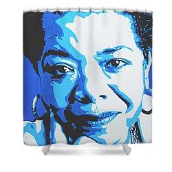 Maya Angelou Shower Curtain