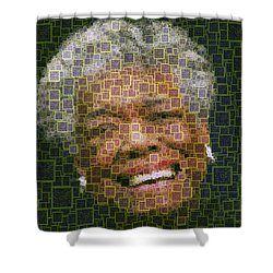 Maya Angelou - Qr Code Shower Curtain