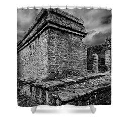 Mayan Ruin Shower Curtain