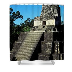 Mayan Ruins - Tikal Guatemala Shower Curtain