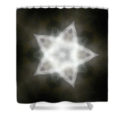 Mayan Star Shower Curtain by Lisa Lipsett