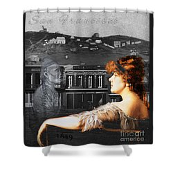 Maybel And Song Shower Curtain