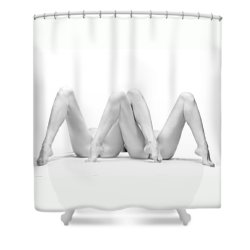Shower Curtain featuring the photograph MBW by Dario Infini