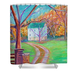 Mc Donalds Mill Shower Curtain by Todd Bandy