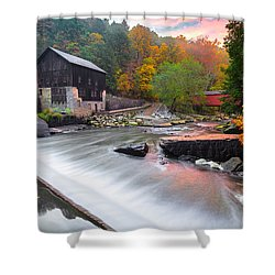 Mcconnell's Mill Fall  Shower Curtain